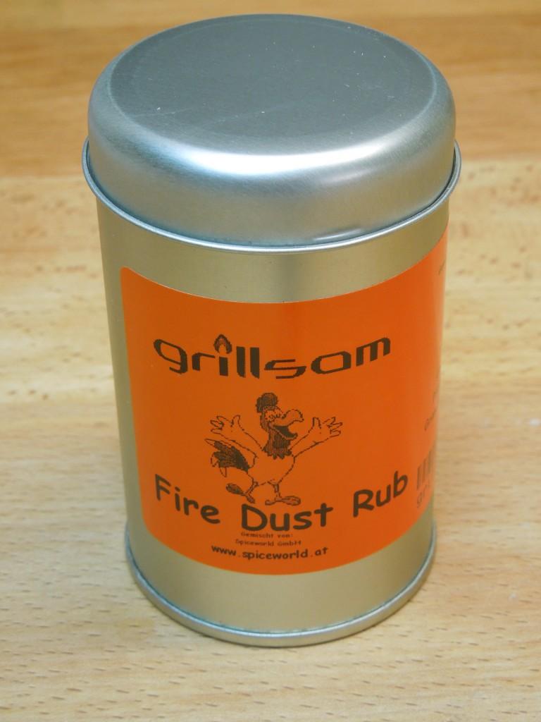 Fire Dust Rub